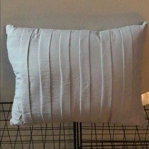 Other - Light blue throw pillow